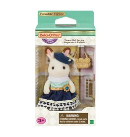 Calico Critters Town Girl Series - Stella Hopscotch Girl