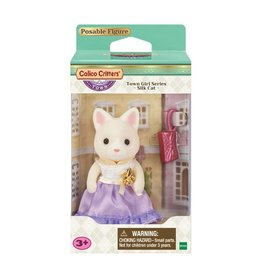 Calico Critters Town Girl Series - Lula Silk Cat