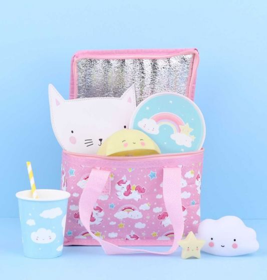 A Little Lovely Company Cooler Bag Unicorn