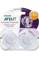 Avent Soother Nighttime Toddler 6-18 Months Blue