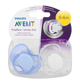 Avent Free flow Pacifier 0-6 Months Boy