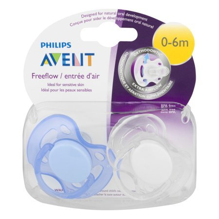 Avent Freeflow Pacifier 0-6 Months Boy
