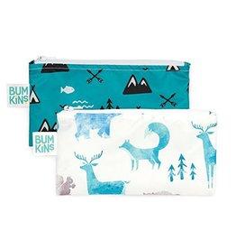 Bumkins Bumkins Reusable Snack Bag 2 Pack Outdoors