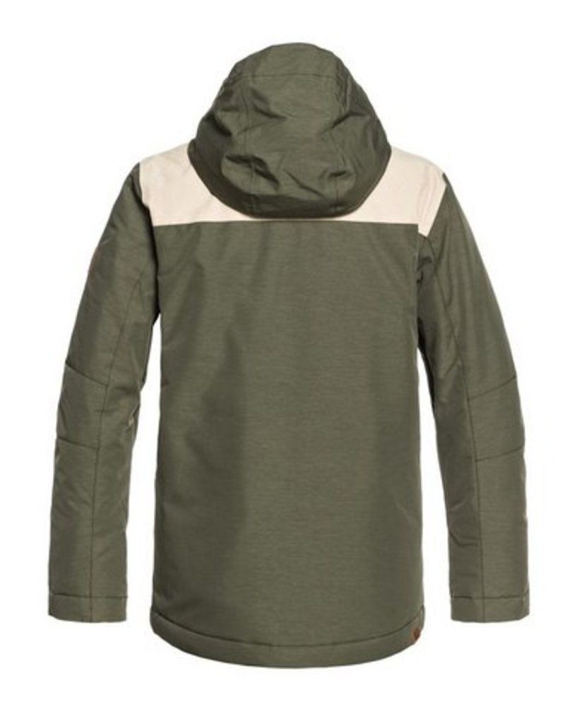 QUIKSILVER Quiksilver Raft Jacket Leaf