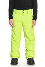 QUIKSILVER Quiksilver Estate Kids Snow Pant Lime