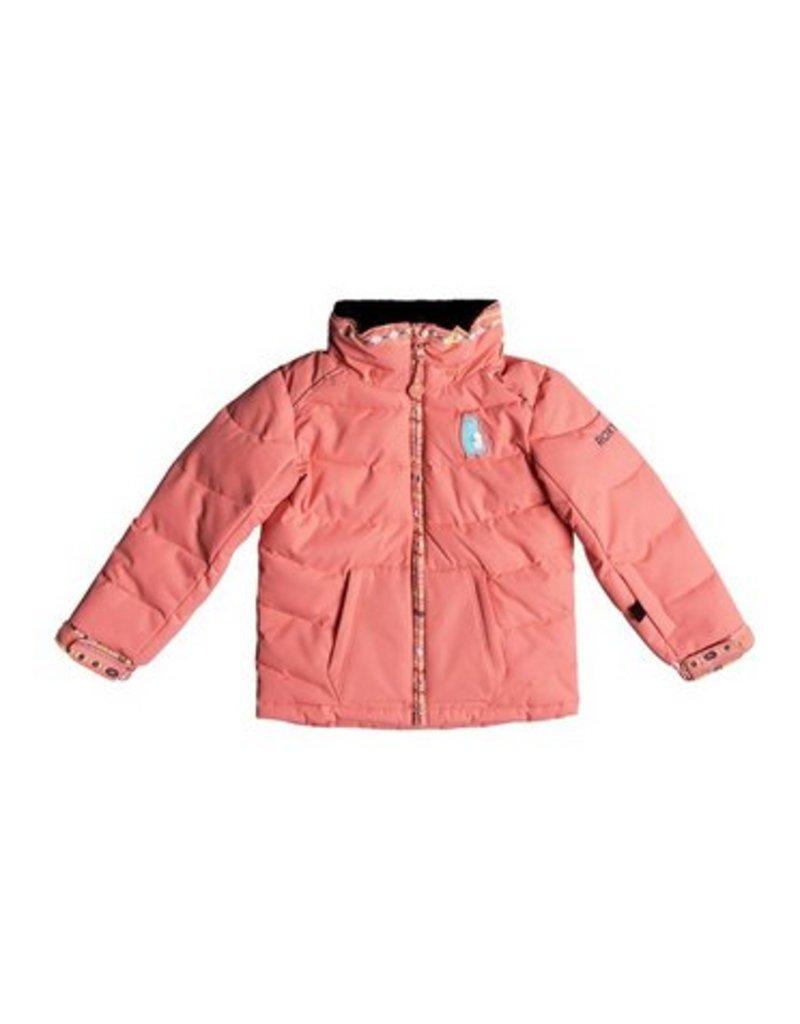 ROXY Roxy Anna Kids Snow Jacket Pink
