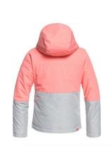 ROXY Roxy Jetty Girls Snow Jacket Pink