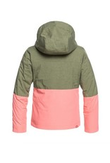 ROXY Roxy Jetty Girls Snow Jacket Clover