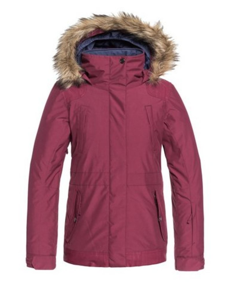 ROXY Roxy Tribe Girls Snow Jacket Beet Red