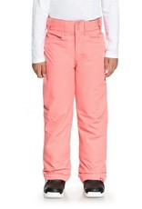 ROXY Roxy Backyard Girls Snow Pant Pink