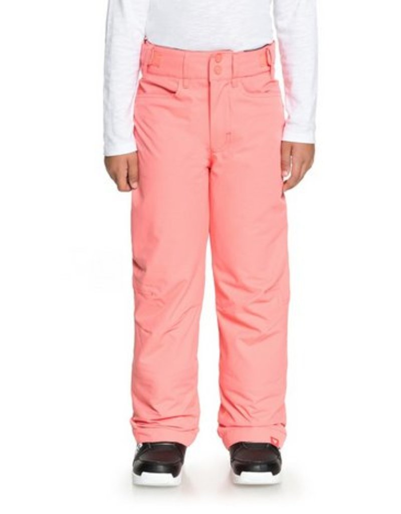ROXY Roxy Backyard Girls Snow Pant Pink