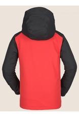 VOLCOM Volcom Vernon Kids Snow Jacket Red