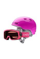 SMITH Smith Zoom/Rascal Snow Helmet/Goggle Combo Pink