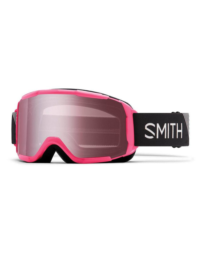 SMITH Smith Daredevil Jr. Snow Goggle Crazy Pink Strike w/ Ignitor Mirror Lens