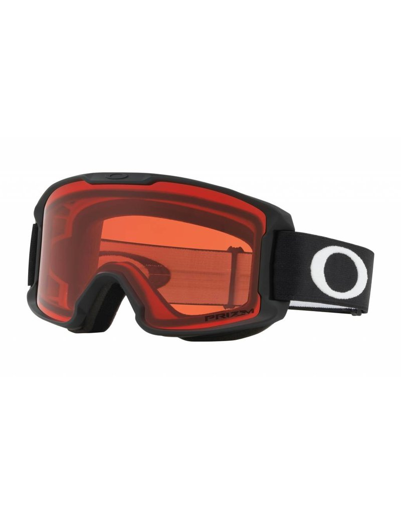 5b3d839c5c64 ... Oakley Line Miner Youth Snow Goggle Black w Prizm Snow Rose Lens YBSS