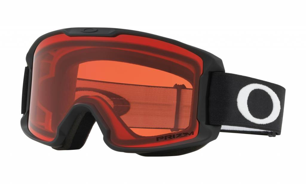 aa35fb4fb38 Oakley Line Miner Youth Snow Goggle Black w  Prizm Snow Rose Lens - YBSS