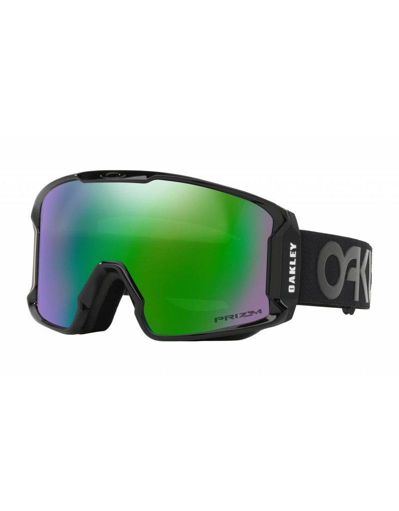OAKLEY Oakley Line Miner XM Snow Goggle Factory Blackout w/ Prizm Snow Jade Iridium
