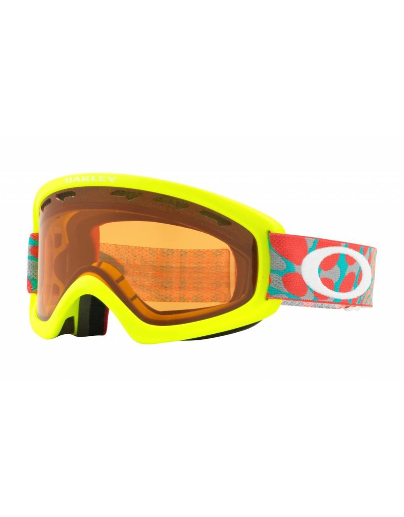 OAKLEY Oakley 02 XS Snow Goggle OctoFlow Retina Red w/ Persimmon Lens