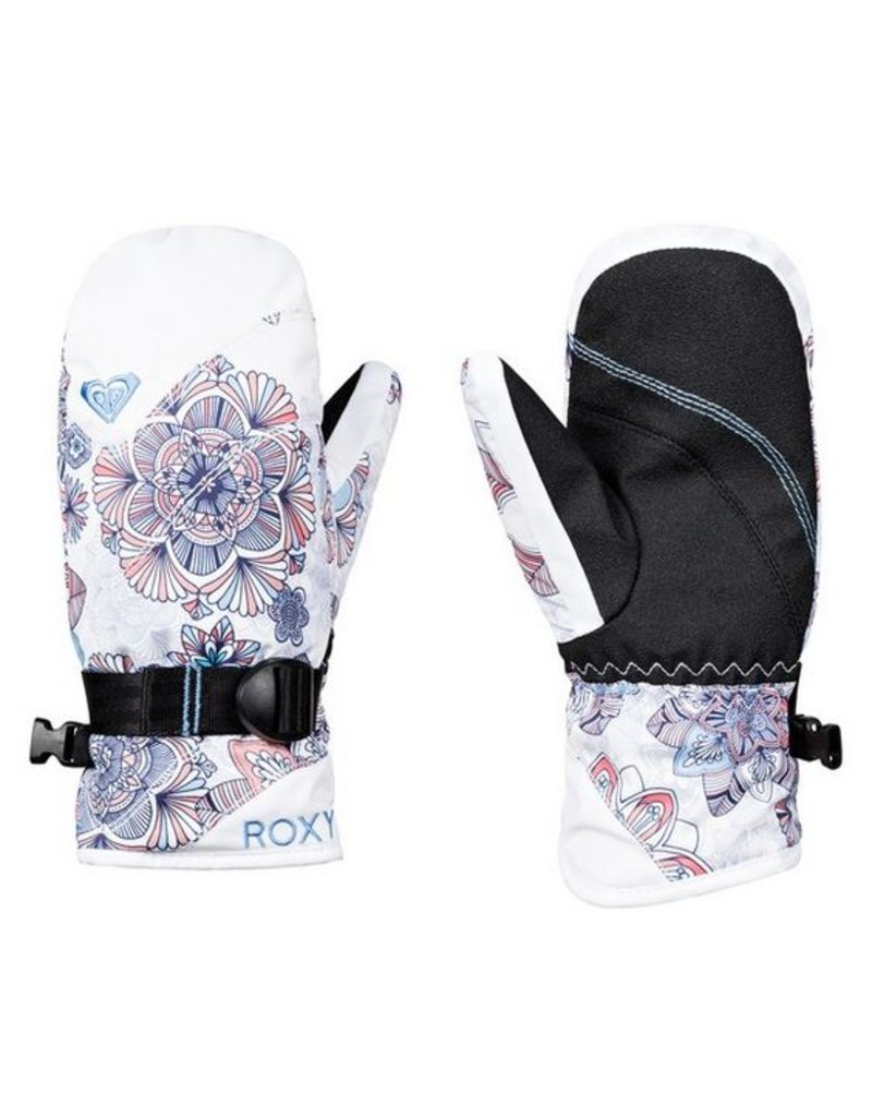 ROXY Roxy Jetty Mitt Bright White Snow Flakes