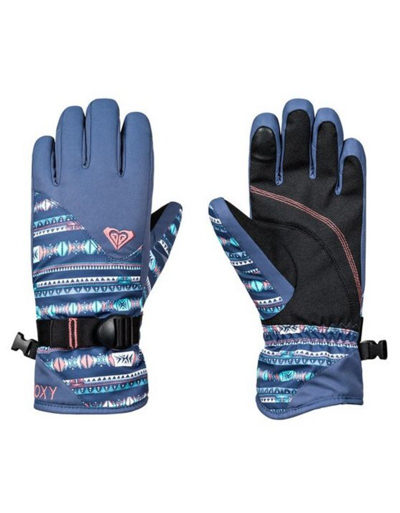 ROXY Roxy Jetty Glove Crown Blue Indie Stripes