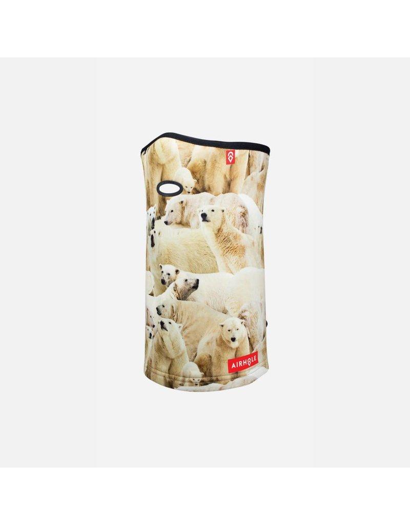 AIRHOLE Airhole Airtube Ergo - Polar Fleece - Polar Bears