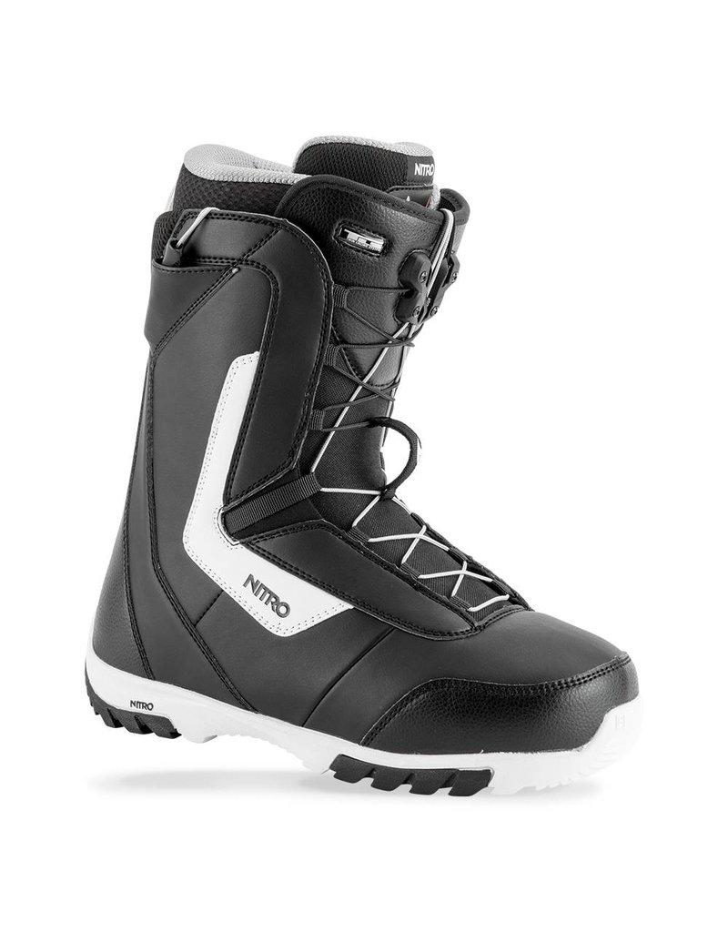 Nitro Sentinel TLS Mens Snowboard Boot Black