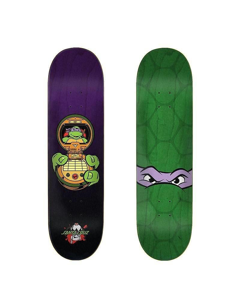 "SANTA CRUZ Santa Cruz x TMNT Donatello 8.125"" Skateboard Deck"