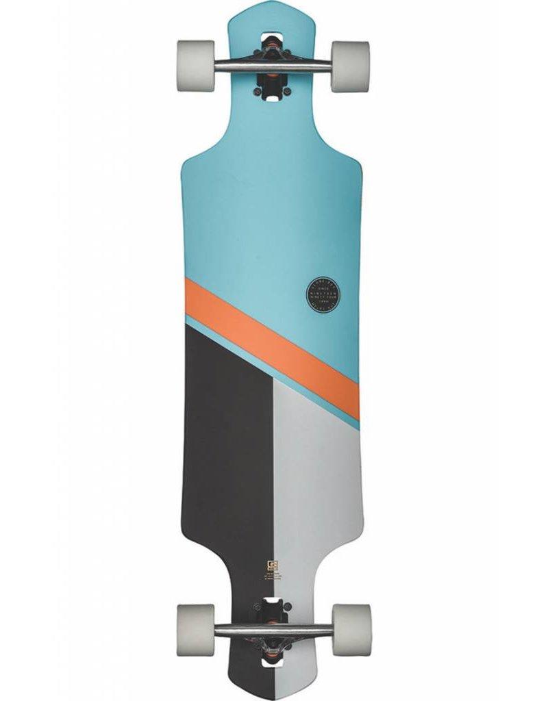 "Globe Geminon 38.5"" Longboard Sky/Orange"