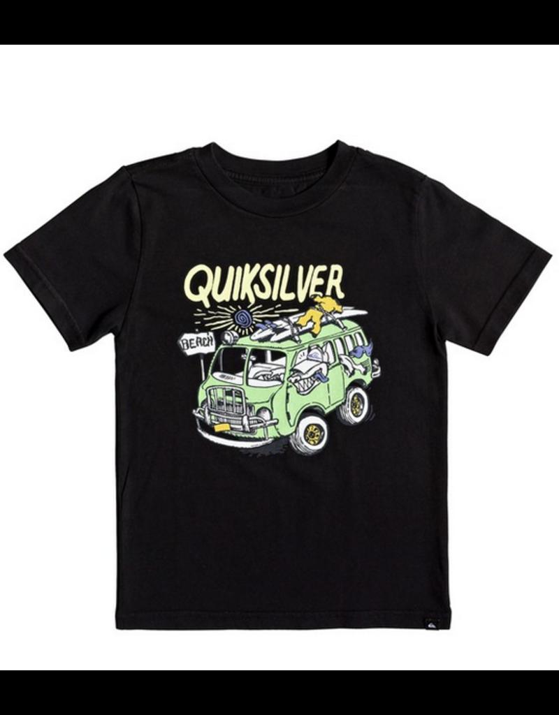 QUIKSILVER Quiksilver Wolf Riding T Black