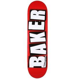 BAKER Baker Deck Brand Logo White 8.25