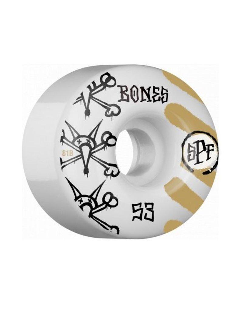 Bones SPF Wheels War Paint 54mm