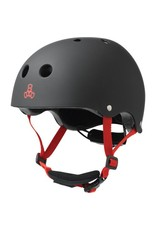 TRIPLE 8 Triple 8 Lil 8 Black XS Kids Skateboard and Bike Helmet