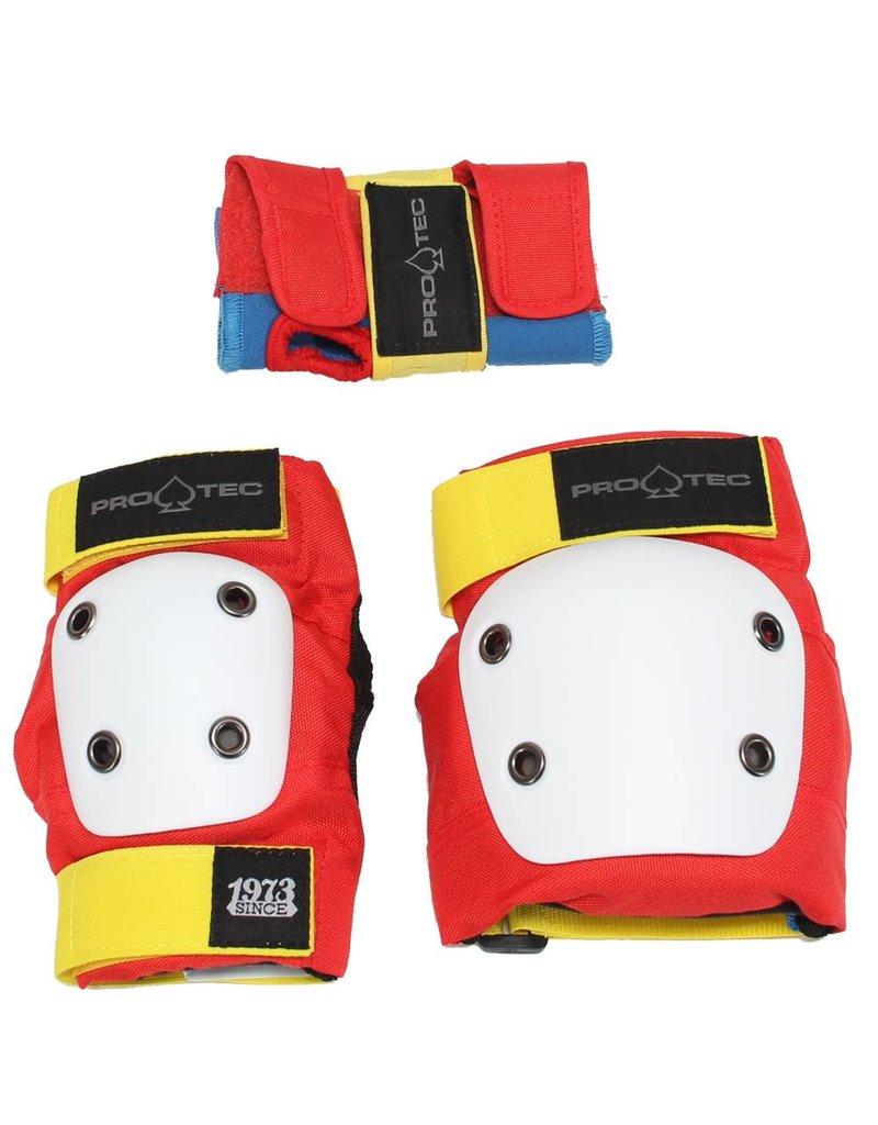 Pro-Tec Jr Pad Kit Retro Kids Pad Set