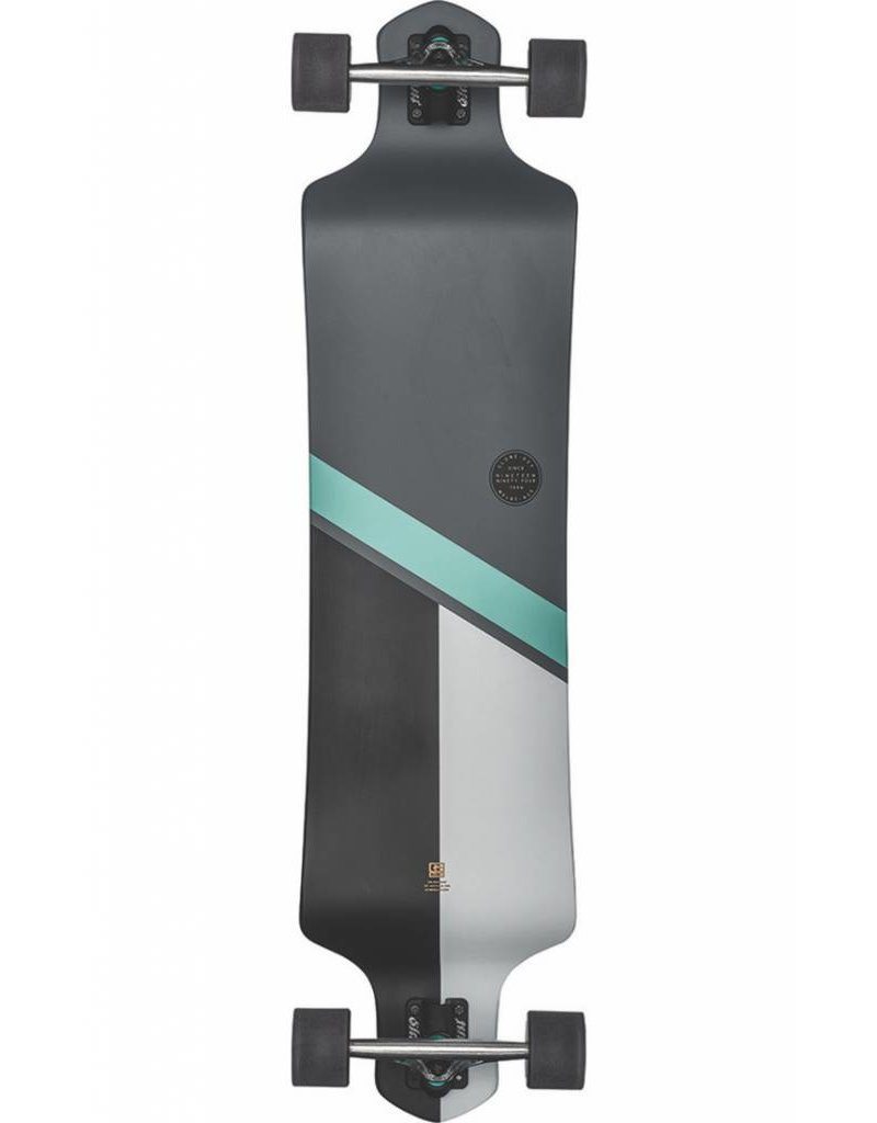 "Globe Geminon Drop 41"" Charcoal/Ice Longboard"