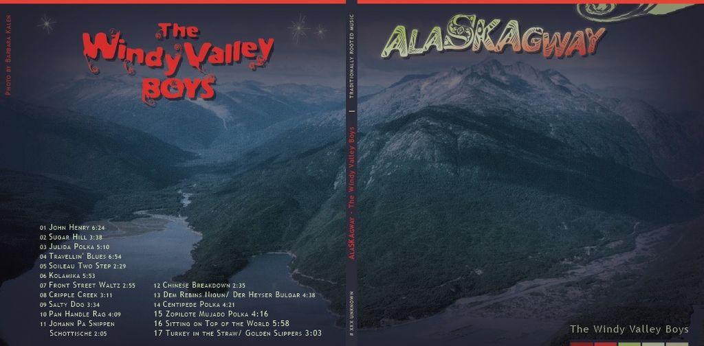CD ALASKAGWAY<br />Windy Valley Boys