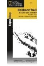 Map - Chilkoot Trail/Klondike Gold Rush, AK (Nat. Geo.) - National Geographic Trails Ill