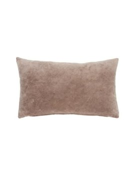 Indaba Coussin Velours Terre