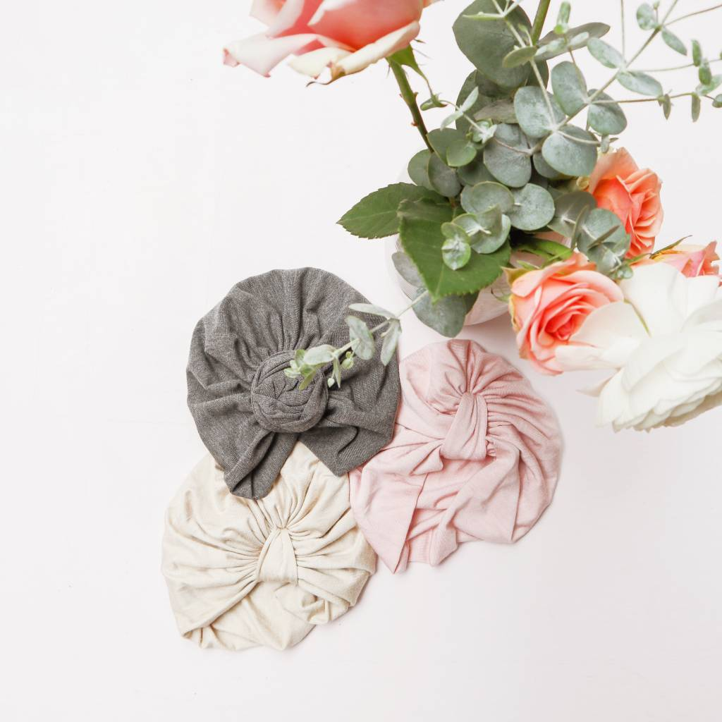 Little Joy by Melissa Lajoie Knotted Turban - Multiple Colors and Sizes