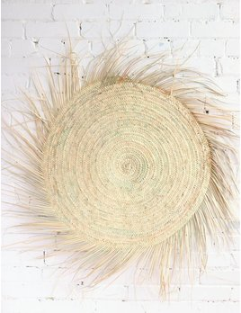 Wicker Round Mat