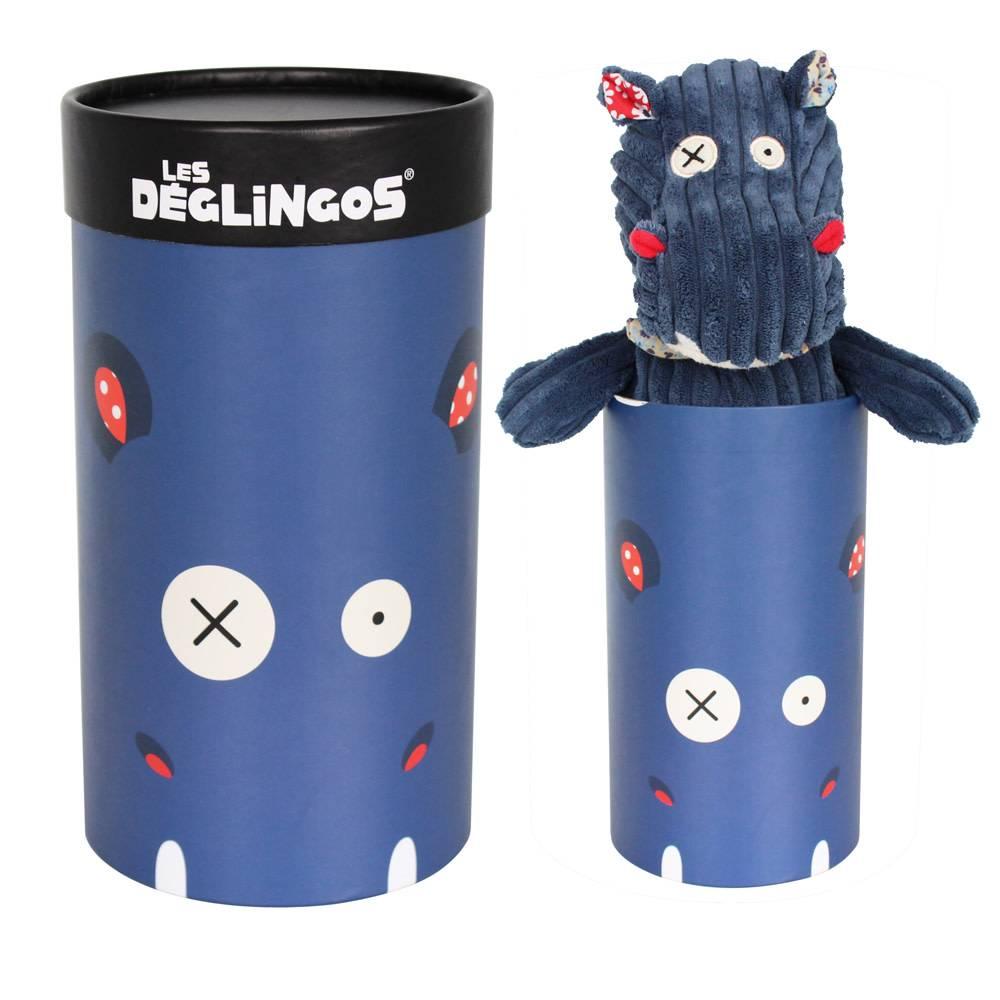 Deglingos Peluche en Boîte Hippo