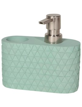 Danica/Now Turquoise Concrete Soap Caddy