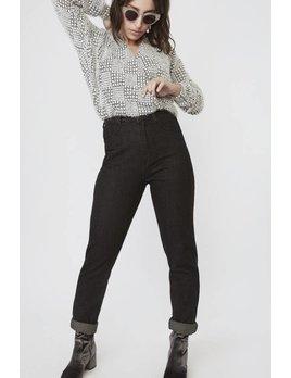 Lovan M Pantalons Lena Noir