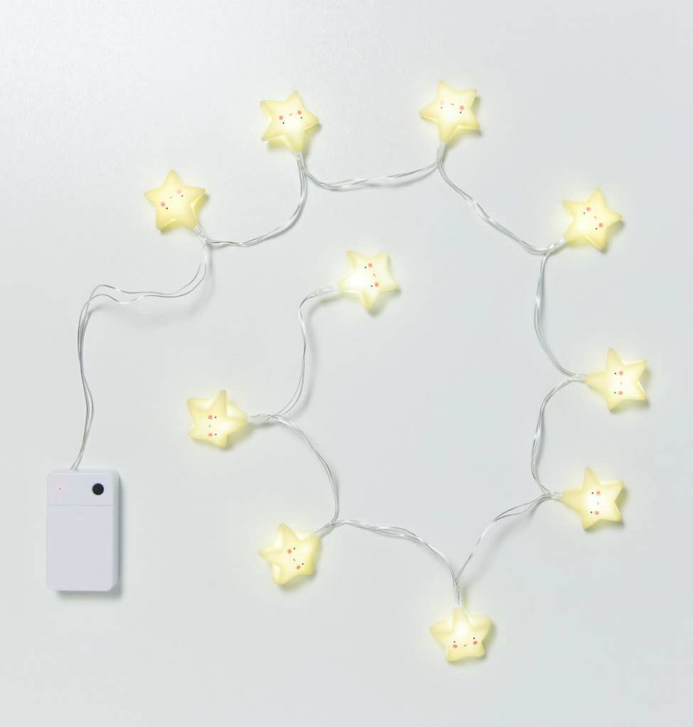 Little Lovely Yellow Stars String Light