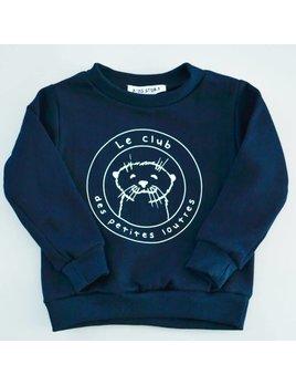 Dailystory Chandail Club des Petites Loutres Marine