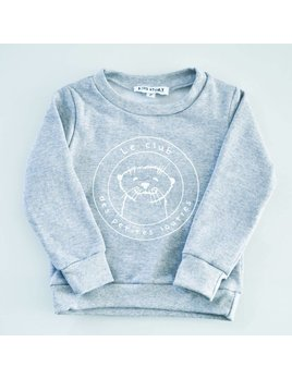 Dailystory Grey Otters Club Sweater