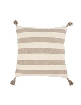 Indaba Natural Stripes Pillow