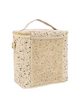 So Young Linen Splatter Lunch Bag