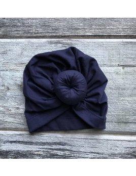 Mini Bretzel Turban Pour Bébé - Choix Couleurs
