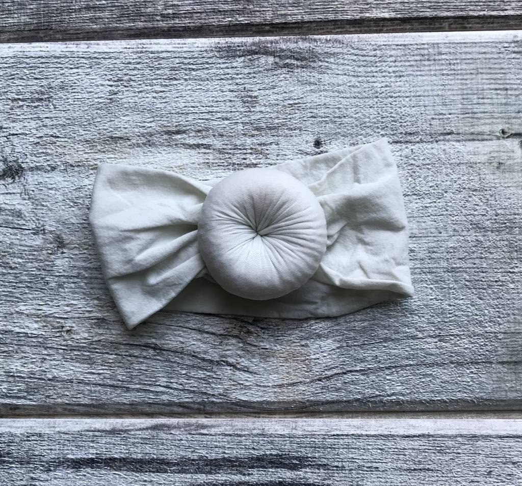 Mini Bretzel Petunia Headband - Color Choices