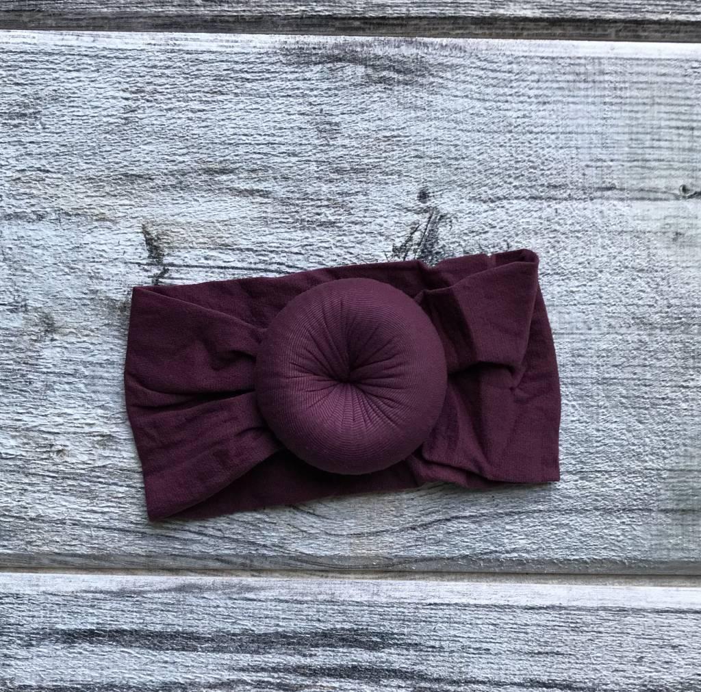 Mini Bretzel Petunia Headband - Color Choices